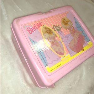 Box of Barbie supplies